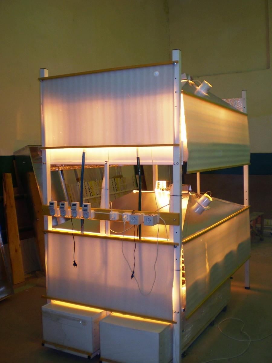 схема гидропоннной установки